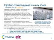 Preview for the injection-moulded glass starter slide
