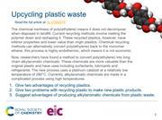 Preview image of starter slide on recyling and reducing waste