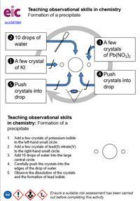 Teaching observation skills in chemistry preview