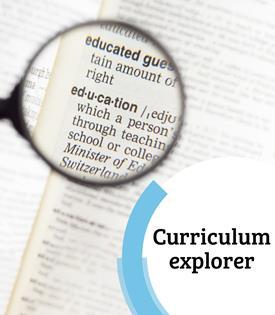 Curriculum explorer